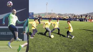 Andrés Iniesta inaugurará su Cruyff Court en Fuentealbilla este próximo lunes