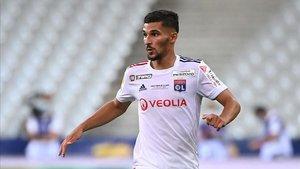 La aportación de Aouar esta campaña se reduce a 2 goles y 1 asistencia con el Lyon