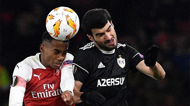 El Arsenal no da opción al Qarabag y acaba el grupo invicto