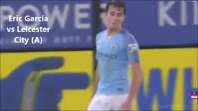 Así fue el debut de Eric García como titular con el City