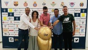 En el Ayuntamiento de Sant Pol de Mar la presentación oficial de la cuarta edición de The CUP