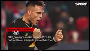 El Barça busca fórmulas para fichar a Lautaro Martínez