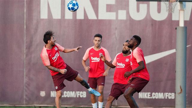 El Barça prepara a conciencia su debut en Champions