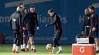 El Barcelona ya prepara el partido ante el Murcia