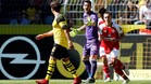 Bürki en una acción del Borussia Dortmund-Mainz05