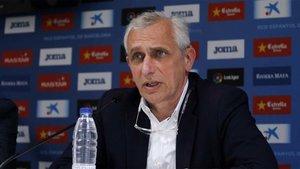 Carlos García Pont, vicepresidente del RCD Espanyol, pide prudencia