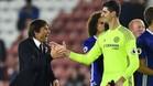El Chelsea blindará a Thibaut Courtois ante el posible interés del Madrid