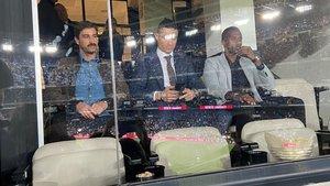 Cristiano Ronaldo, en el Bernabéu