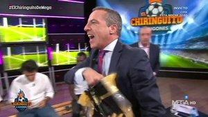 Cristóbal Soria enfurece a Roncero al tirar fideos por el plató de El Chiringuito | La Sexta