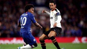 Dani Parejo fue una de las figuras en la victoria sobre Chelsea