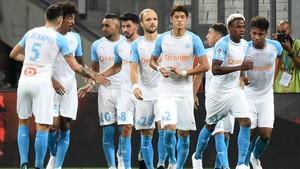 El OM debutó en la Ligue 1 con una cómoda victoria ante el Toulouse.