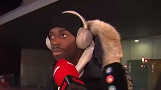Dembélé se hizo el sordo