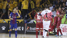 ElPozo Murcia asaltó el Palau Blaugrana