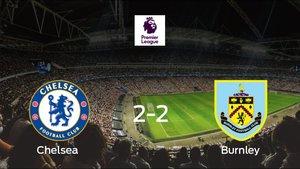 Empate, 2-2, entre el Chelsea y el Burnley