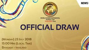 Este lunes se celebra el sorteo de la Copa Intercontinental de fútbol sala