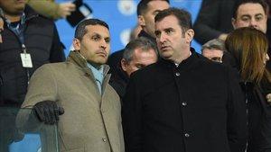 Ferran Soriano es uno de los altos cargos del Manchester City
