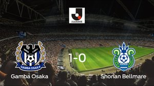 El Gamba Osaka se lleva tres puntos tras vencer 1-0 al Shonan Bellmare