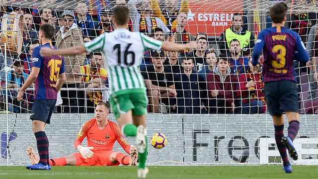 El gol de Lo Celso que sonrojó a Ter Stegen