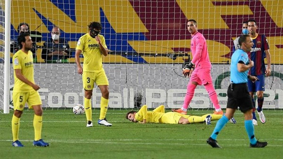 El gol de Pau Torres en propia puerta