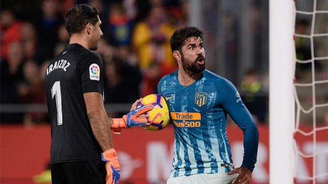Un gol en propia privó al Girona de la victoria ante el Atlético