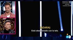 Hugo Castejón contesta muy crítico a Adara en el plató de GH VIP 7