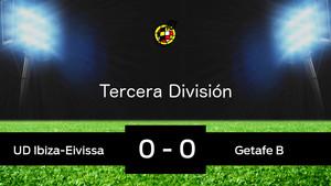 El Ibiza empató ante el Getafe B (0-0)