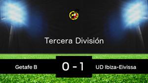 El Ibiza vence en Ciudad Deportiva de Getafe (0-1)