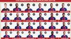 Infografía: Dorsales del FC Barcelona 2017 / 2018
