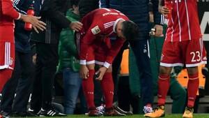 James Rodríguez sufrió una conmoción cerebral