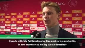 De Jong: El Barcelona siempre ha sido mi sueño