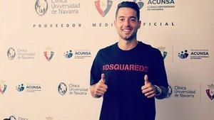 Jony Rodríguez, nuevo refuerzo para Osasuna
