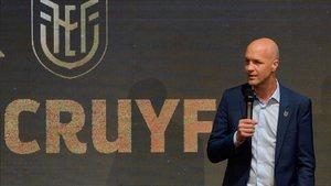 Jordi Cruyff, en una imagen de archivo