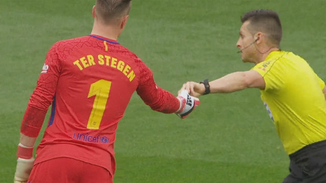 LALIGA | FC Barcelona - Valencia (2-1): Ter Stegen le dio el spray de Del Cerro Grande