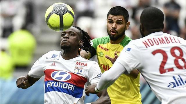 LALIGA FRANCIA   Lyon - Nantes (2-0)