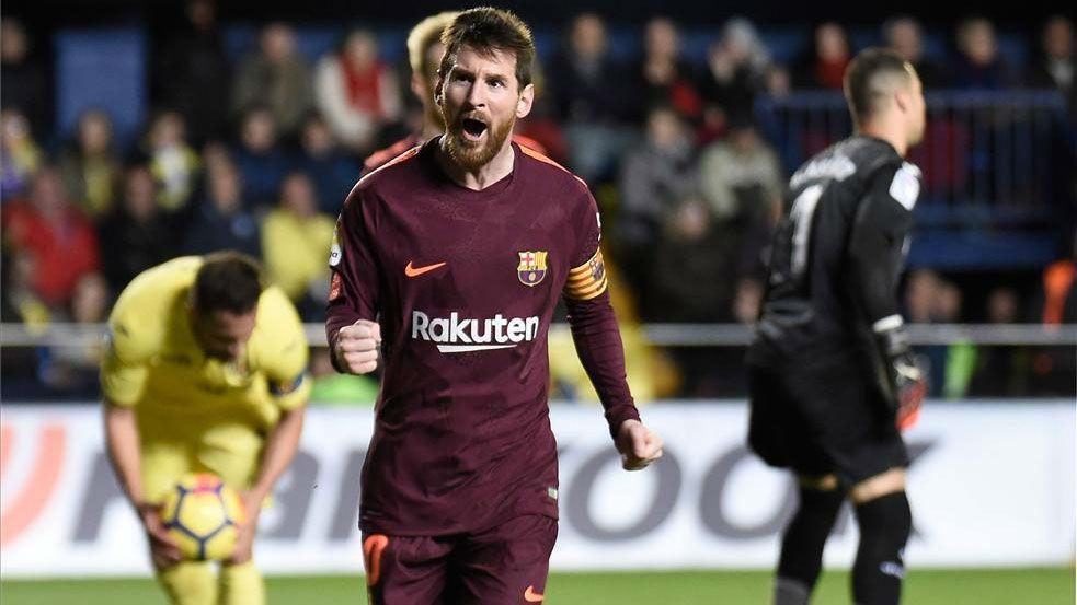 LALIGA | Villarreal - FC Barcelona (0-2): El gol de Messi