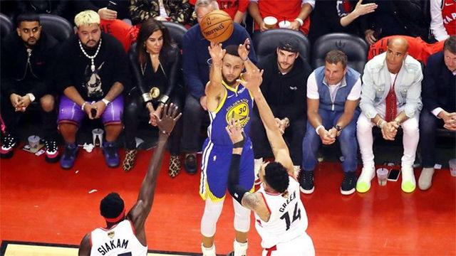 Las tres mejores jugadas del quinto partido de la final entre Toronto y Warriors