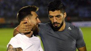 Leo Messi y Luis Suárez se reencontrarán esta noche como rivales