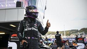 Lewis Hamilton, después de la carrera de Sochi