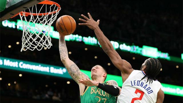 Los Celtics sorprenden tumbando a los Clippers con un brutal Tatum