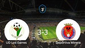 El Los Garres y la Deportiva Minera se reparten los puntos tras empatar 3-3