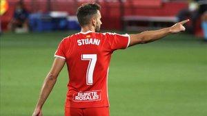Los goles de Stuani son claves para el Girona
