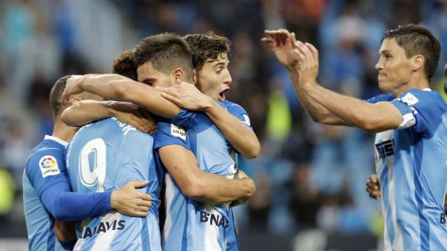 El Málaga anula al Nàstic en La Rosaleda