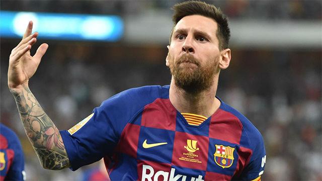 Messi quiso sí o sí la pelota y se la llevó: presión y zapatazo para hacer el 1-1
