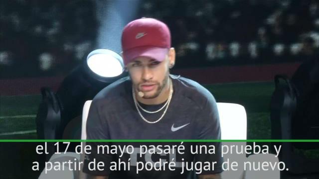 Neymar pone fecha a su vuelta