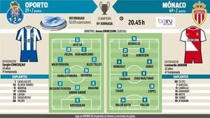 El Oporto ha derrotado por 3-0 las dos veces que se ha medido al Mónaco, una en la final de 2004