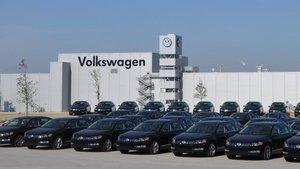 Planta de Volkswagen en Chattanooga, Tennessee.