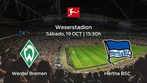 Previa del encuentro: el Werder Bremen recibe al Hertha BSC en la octava jornada