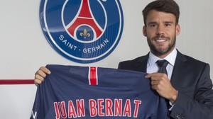 El PSG hace oficial el fichaje de Juan Bernat