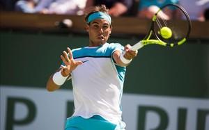 Rafa Nadal se defendió con uñas y dientes en la semifinal