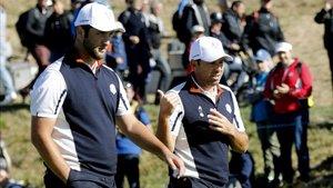 Rahm y Sergio infundirán espíritu ganador al equipo europeo